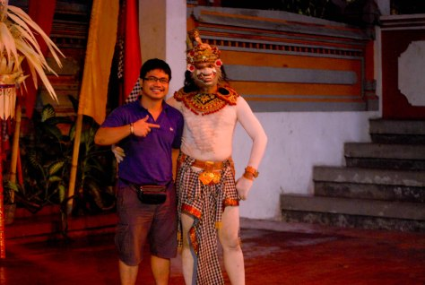 Good showmanship by Garuda, Indonesian Legend