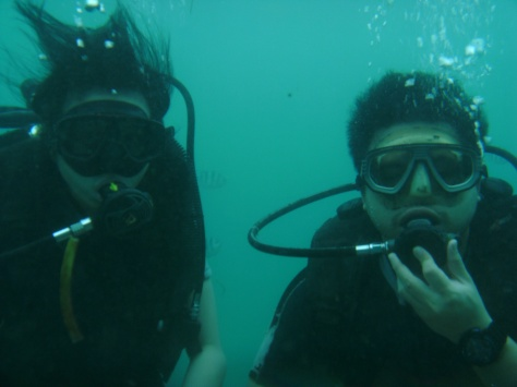 Went for a Diving trip in Bali